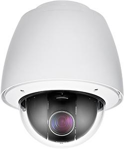 Всепогодная поворотная IP-камера с Full HD при 30 к/с