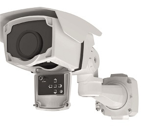Охранная тепловизионная камера с чувствительностью 40 мК