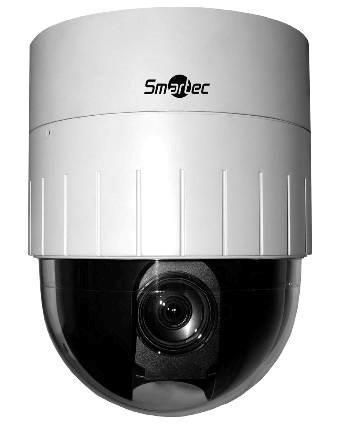 Купольная поворотная IP-видеокамера с поворотом на 360° и наклоном на 184°