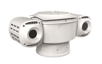 Поворотная камера тепловизор для работы при -30 °C — +55 °C